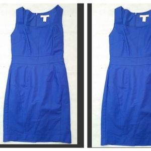 Banana Republic Blue Sleeveless Dress